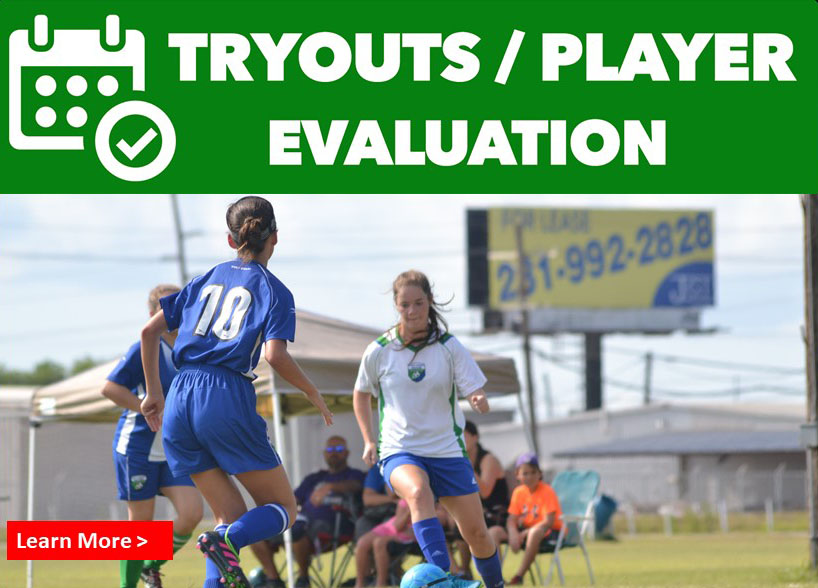 Tryout/Evaluations for Select Soccer
