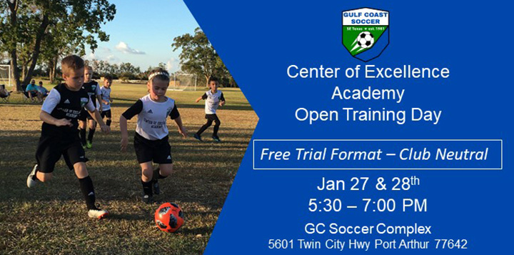 COE Academy Open Training Days